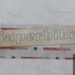 Adesivo decal SUPERBIKE ducati 748 916 996 998 749 999 848 1098 1198