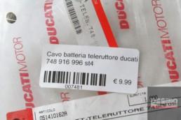Cavo batteria teleruttore ducati 748 916 996 st4