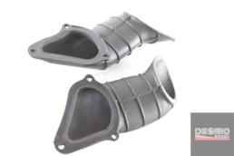 Convogliatori gomma aria fanale anteriore ducati st2