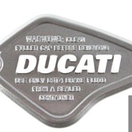 Coperchio cover pompa freno ducati diavel