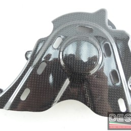 Cover coperchio pignone carbonio ducati desmosedici RR MS production