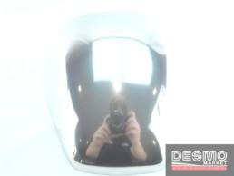 Cover coperchio sella alluminio lucido ducati performance monster s4 620 1000 900