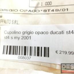 Cupolino grigio opaco ducati st4s st4 s my 2001