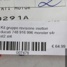 Kit gruppo revisione iniettori ducati 748 916 996 monster s4r st2 st4