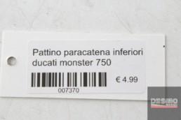 Pattino paracatena inferiori ducati monster 750