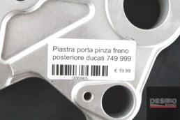 Piastra porta pinza freno posteriore ducati 749 999