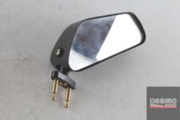 Specchio specchietto retrovisore destro carbonio ducati 748 916 996 998