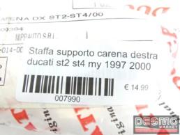 Staffa supporto carena destra ducati st2 st4 my 1997 2000