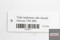 Tubi radiatore olio ducati treccia 749 999
