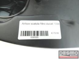 Airbox scatola filtro ducati 1098
