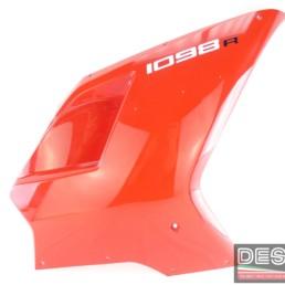 Carena laterale destra rossa ducati 1098R 1098 R
