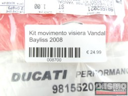 Kit movimento visiera Vandal Bayliss 2008