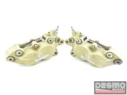 Pinze freno anteriore 40 mm serie oro Brembo ducati monster 900 748 916