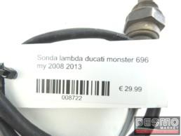 Sonda lambda ducati monster 696 my 2008 2013