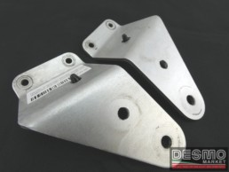 Staffe supporto fanale anteriore argento ducati monster s2r s4r