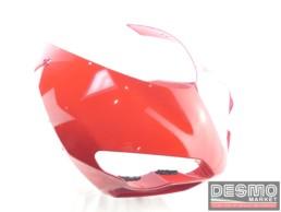 Cupolino anteriore rosso ducati 1098 1198