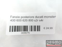 Fanale posteriore ducati monster 400 600 620 800 s2r s4r