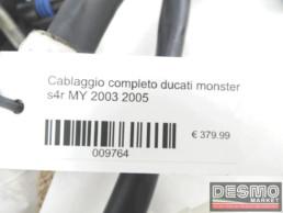 Cablaggio completo ducati monster s4r MY 2003 2005