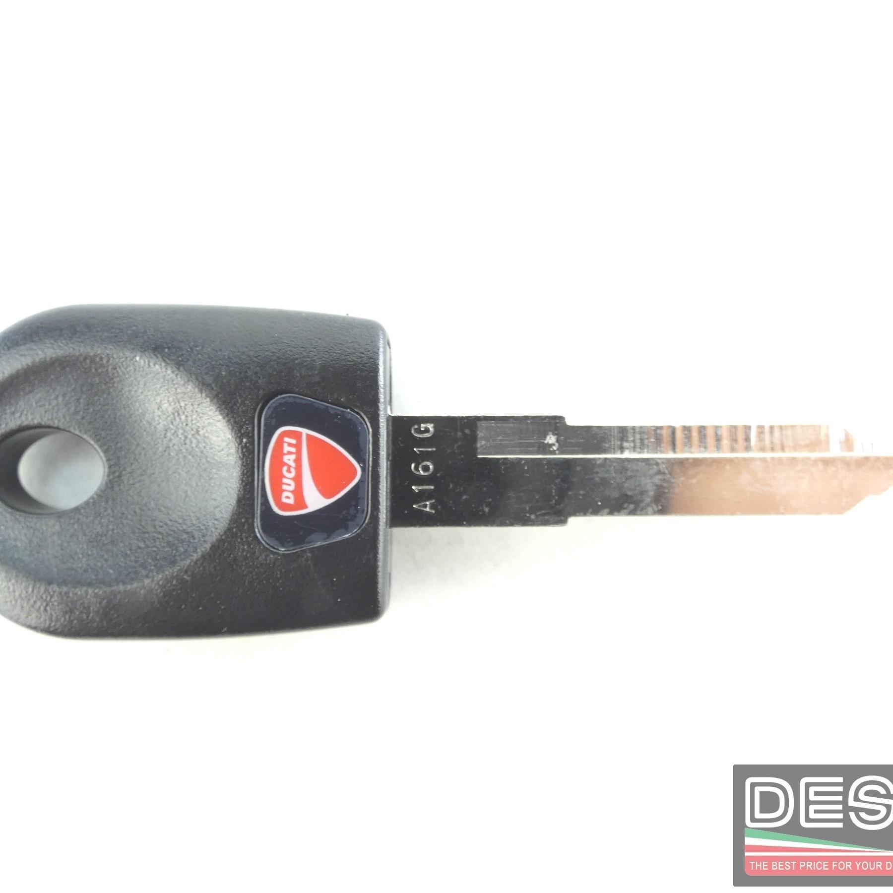 Chiave grezza con trasponder ducati 848 hypermotard 796 1100