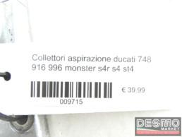 Collettori aspirazione ducati 748 916 996 monster s4r s4 st4