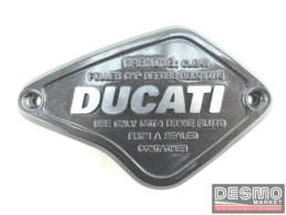 Coperchio cover pompa frizione CNC ducati performance ducati diavel