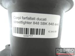 Corpi farfallati ducati streetfighter 848 SBK 848 evo