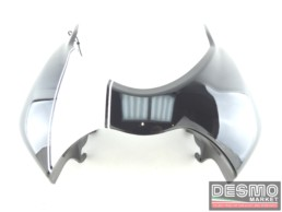 Cupolino anteriore nero fascia bianca ducati monster s4r