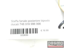 Staffa fanale posteriore biposto ducati 748 916 996 998