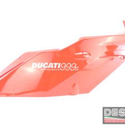 Carena superiore destra rossa ducati 749 999 MY 2002 2004