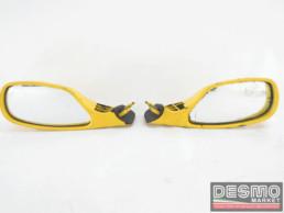 Specchi specchietti retrovisori gialli ducati 748 916 996 998