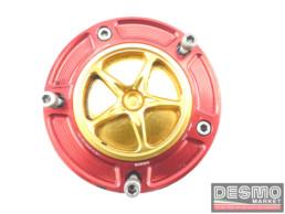 Tappo serbatoio carburante ergal evotech rosso oro ducati 748 916
