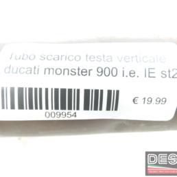 Tubo scarico testa verticale ducati monster 900 i.e. IE st2