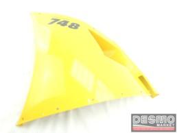 Carena fiancata alta sinistra gialla Ducati 748 916 996