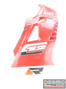 Carena fiancata destra rossa Cagiva C12 R 7 speed