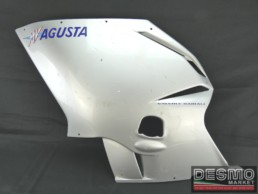 Carena fiancata sinistra argento MV Agusta F4