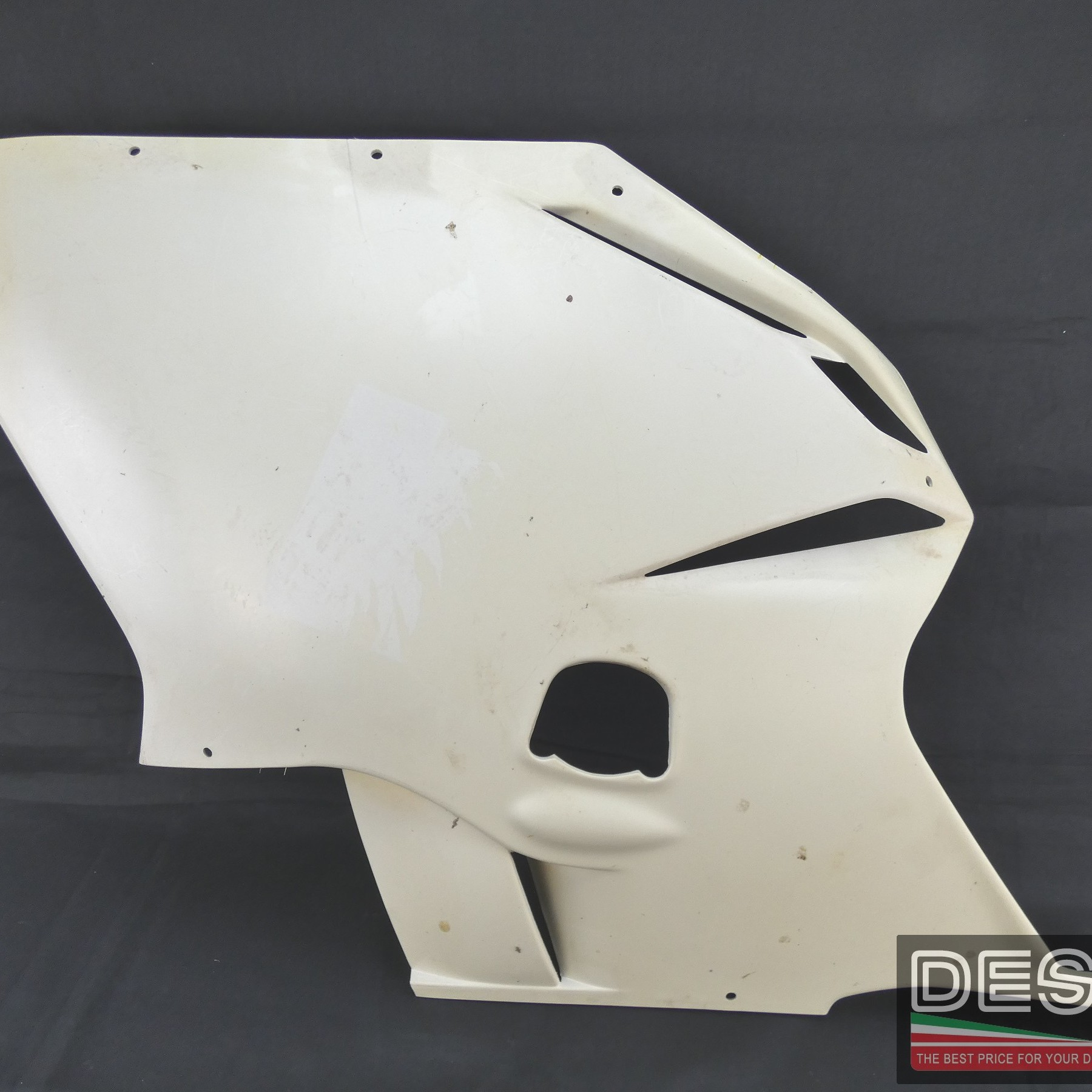 Carena fiancata sinistra grezza MV Agusta F4