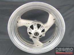 Cerchio grezzo Brembo 5,50 x 17 tre razze Ducati Monster 900 MY 99