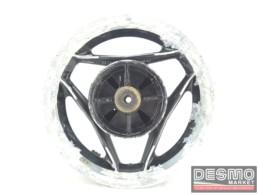 Cerchio Oscam 3,50 x 15 nero canale diamantato Ducati Paso