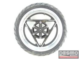 Cerchio Oscam 3,75 x 16 nero canale diamantato Ducati Paso