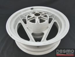 Cerchio Oscam 5 x 16 bianco Ducati Paso