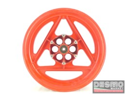 Cerchio rosso Grimeca razze tipo delta 2,50 x 16 Cagiva Freccia C9 125