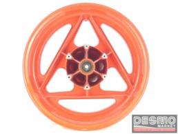 Cerchio rosso Grimeca razze tipo delta 3 x 17 Cagiva Freccia C9 125