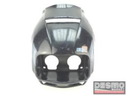 Cupolino carena faro anteriore nero Cagiva Freccia C10 R