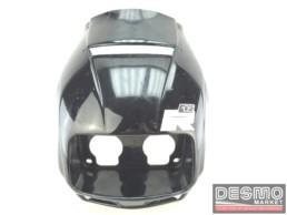 Cupolino carena faro anteriore nero Cagiva Freccia C12 R