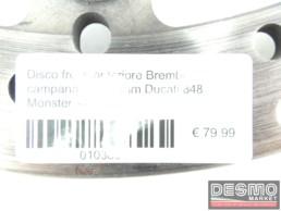 Disco freno anteriore Brembo campanatura 15 mm Ducati 848 Monster s4rs