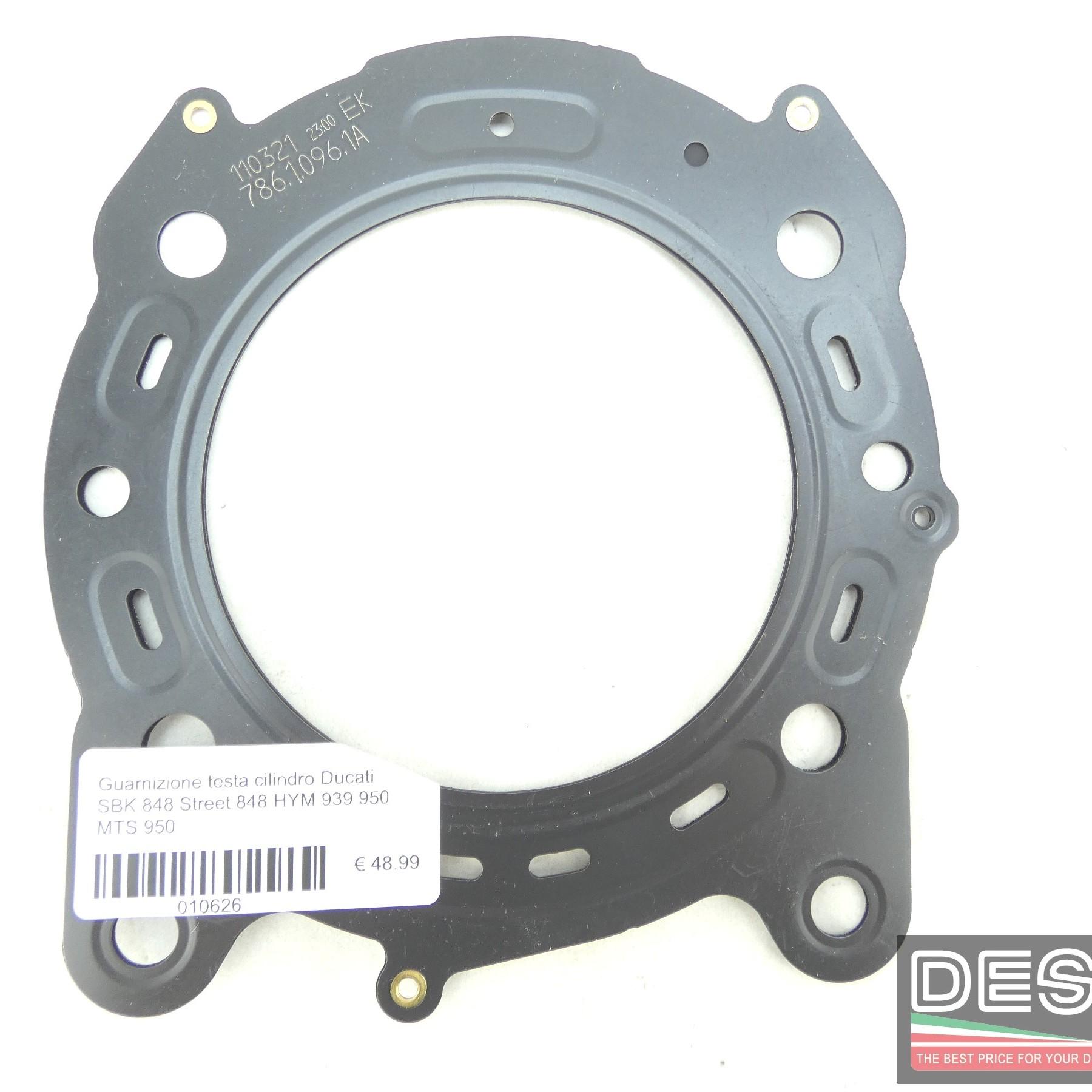 Guarnizione testa cilindro Ducati SBK 848 Street 848 HYM 939 950 MTS 950