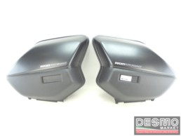 Kit coperchi borse laterali neri Ducati Multistrada 1000 DS 1000ds