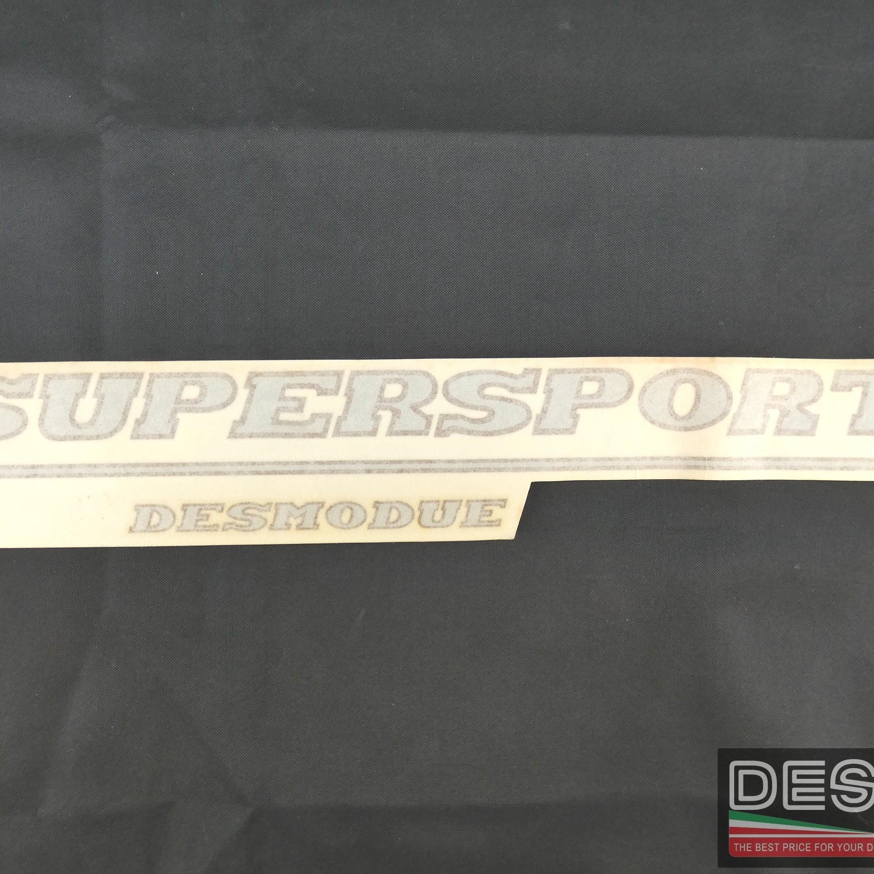 Adesivo decal carena fiancata sinistra Ducati Supersport