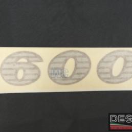 Adesivo decal Ducati 600