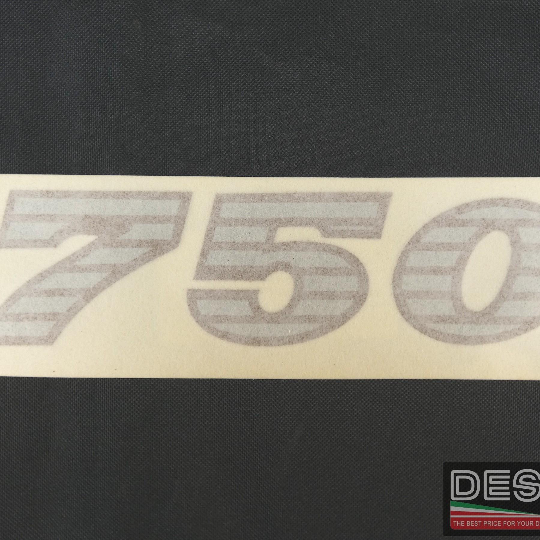 Adesivo decal Ducati 750